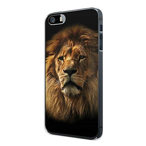 Löwe Lion Foto iPhone 4 / 4S Hülle Cover Case Schale Tasche Design Muster Liebe Tier König