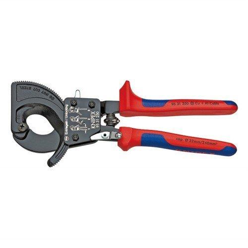 KNIPEX(クニペックス):ケーブルカッター(ラチェット式) 9531-250 B01AXXZ0LM