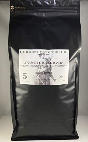 Currency 5 (Currency Coffee Company Justice Blend (whole bean) (5-lb))