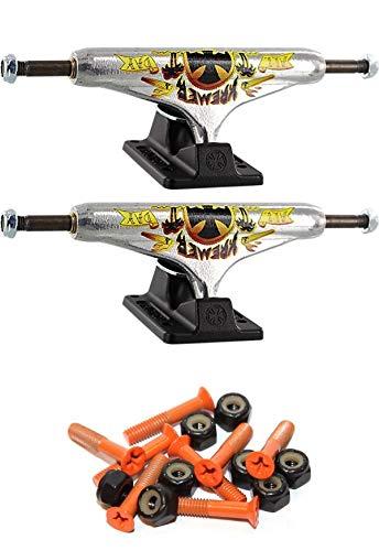 独立ステージ 11-139mm 中空 オールデイ 標準 5.39インチ スケートボード トラック 1インチ オレンジ取り付け金具付き   B07GXKVMT3