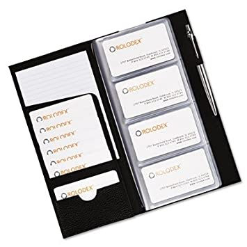 Low profile business card book 96 card capacity black amazon low profile business card book 96 card capacity black reheart Images