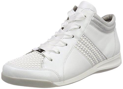 Ara Ladies Rom Sneaker Bianco (bianco, Bianco / Argento)