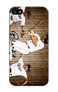 Customizable Baseball San Diego Padres Hard Case Cover with Scr Baseball San Diego Padres Protector for iphone 5/5s - Retail.