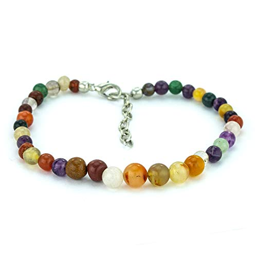 Mystic Self Agate Anklet -...