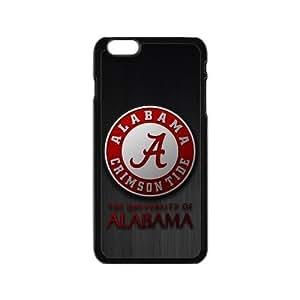 Generic Custom Extraordinary Best Design Alabama Crimson Tide Symbol Plastic Case Cover for iPhone6