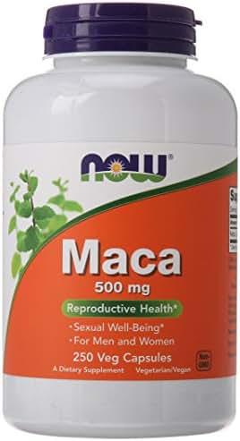 NOW Maca, 500 mg, 250 Veg Capsules