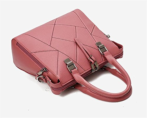 Lady en Diagonale Unique bean Main PU Sac paste Croix à Paquet bandoulière red Shopping à Cuir Travail Sac Mode Couleurs Cinq SHOUTIBAO 8I7dqxI