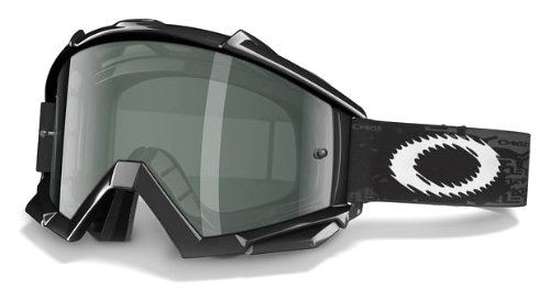 Oakley Proven with Clear Lens included MX Goggles (Proven Frame/Grey & AF Lens, One Size)