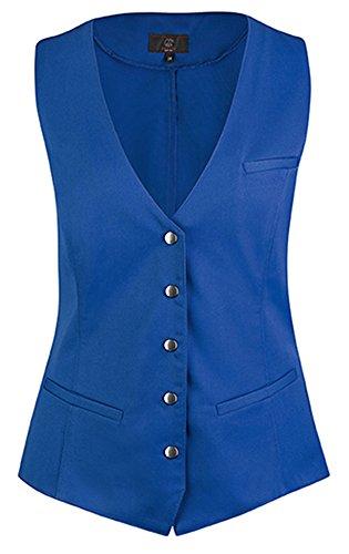 Blu gilet Reale da Service modello donna Greiff 1712 aYHwffq