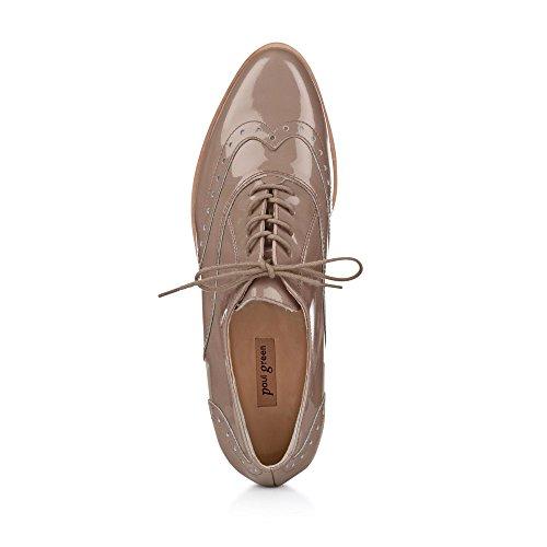 De Beige Green Chaussures 049 1088 Femme 9 À Paul Lacets Pour Ville nfqR4Xw