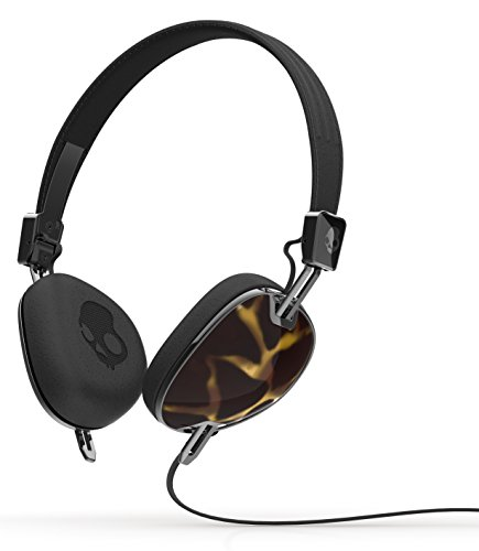 Skullcandy Navigator On-ear Headphone with Mic3, Tortoise