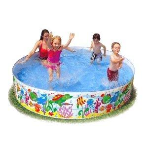 "Amazon.com: Fill N Fun Snapset 96"" Diameter Kiddie Pool"