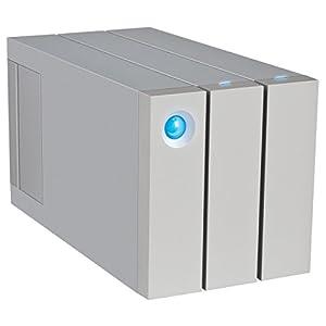 LaCie LAC9000473U 2Big RAID Thunderbolt 2 12TB 7200RPM External Hard Drive