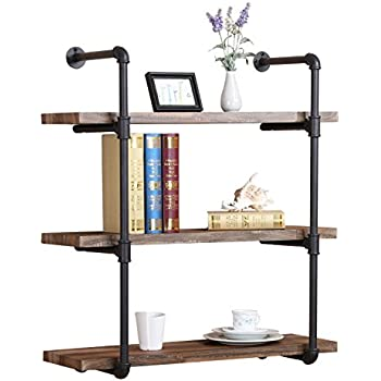 Amazon Com Industrial Pipe Shelf By Diy Cartel 12 Inch