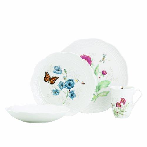 Lenox Butterfly Meadow Basket 4-Piece Place ()
