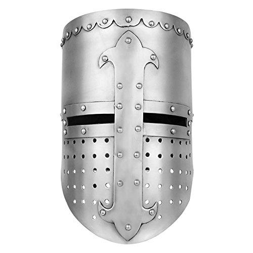 Knights Templar Crusader Helmet Medieval Armor Roman knight