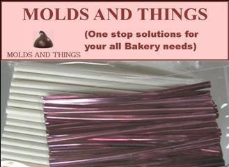 Lollypop Sticks, Cello Bags and Twist Ties