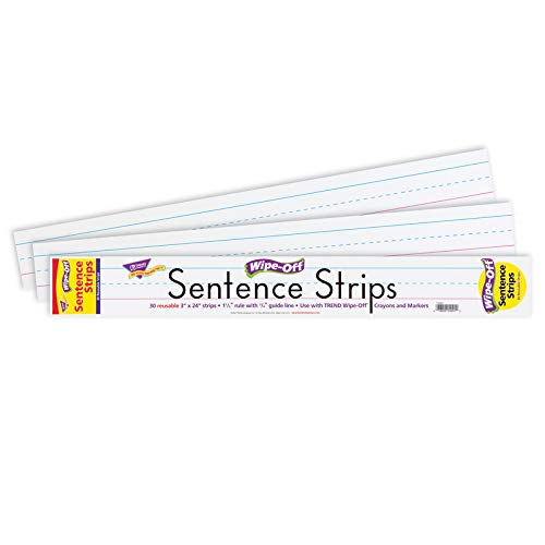 (TEPT4001 - Trend Wipe-Off Sentence Strips)