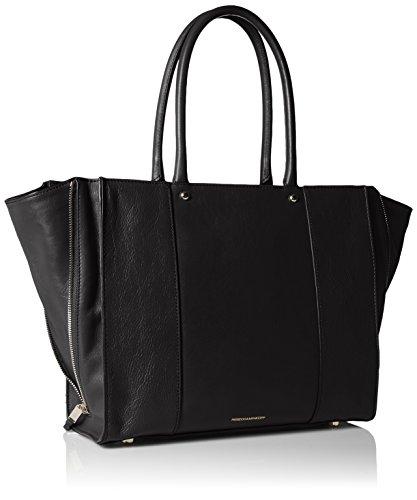 Rebecca Minkoff Side Zip Medium Mab Tote Bag Black One