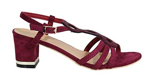By Shoes - Sandalias para Mujer Burdeos