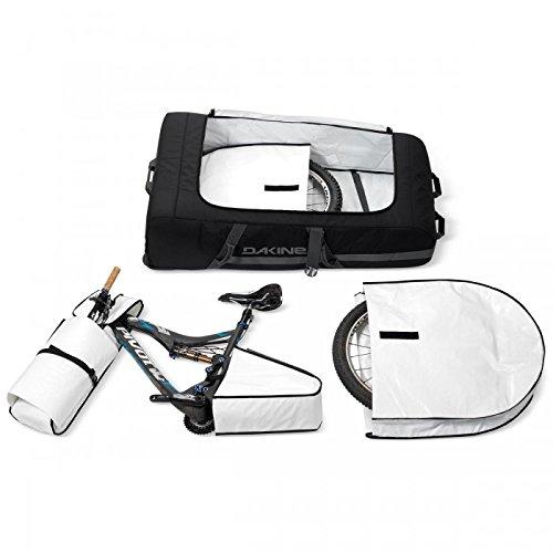 Dakine Gepäckträgertasche Bike Bag, Black, 130 x 72 x 32 cm, 90 Liter, 8300980
