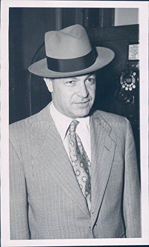 Vintage Photos 1950 Photo Nick Avolio Good Suspect Shotgun Slaying Crime William Drury Police