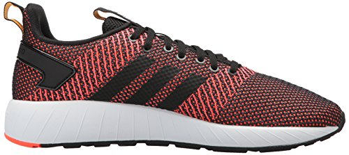 adidas Men's Questar BYD Running Shoe, Black/White/Solar red, 7 M US by adidas (Image #7)