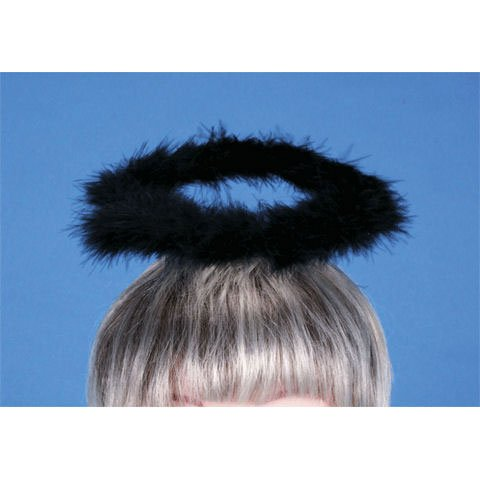 Halo Feather Black Costume Prop (1 per package)  sc 1 st  Meata Product Reviews & Top 7 recommendation black halo headband costume 2018 | Meata ...
