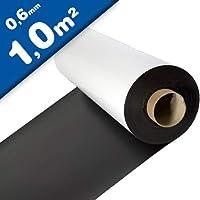 Lámina magnética blanco mate 0,6mm x 1m x