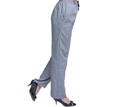 Pantaloni Primaverile Dritti Houndstooth Vita Elastica Elegante Ragazze Giovane Pantaloni Da Pantaloni Libero Cuoco Base Autunno Donna Moda Tempo x0TIEwOqE