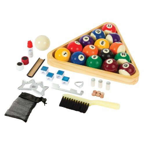 EastPoint Sports Deluxe Billiard Starter Set (Kit Table Pool Accessories)
