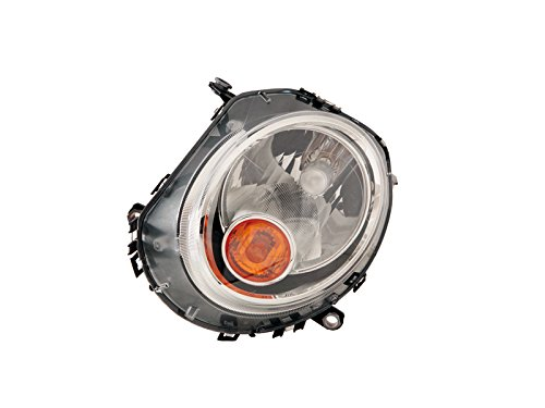 Replacement For Mini Cooper S Clubman 07-13 Halogen Head Light With Amber Signal Lh - S Cooper Light