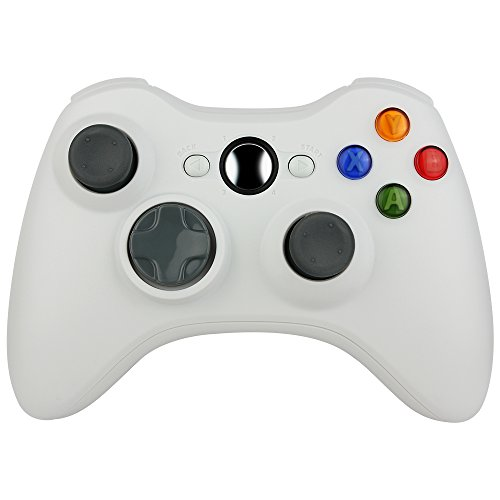 Kycola Xbox 360 Controller SL12 Wireless Controller Xbox 360 Wireless Gamepad For PC/Xbox 360(White)