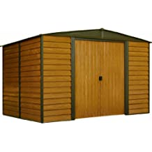 Arrow WR108 Woodridge EG Steel Storage Shed, 10 by 8-Feet