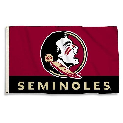NCAA Florida State Seminoles 3-by-5-foot Flag - Fsu Sports