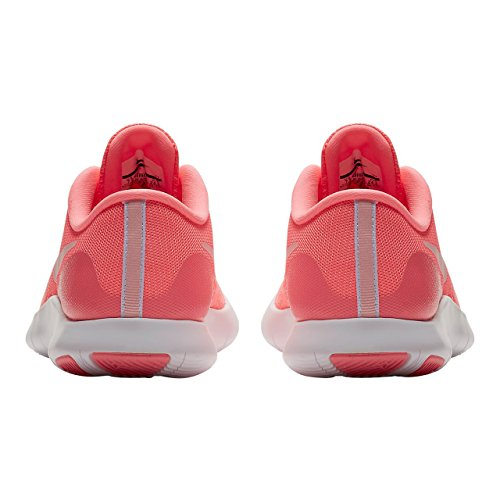 Nike Flex Contact - Zapatillas de Running de Material Sintético Para Mujer Rosa Sunset Pulse/Arctic Punch