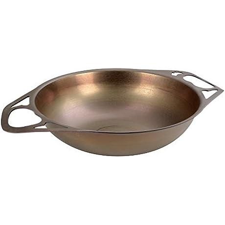 AUS ION SATIN Wok 12 30cm 100 Made In Sydney 2mm Australian Iron Professional Grade Cookware