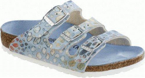 Birkenstock Sandals ''Florida Kids'' from Birko-Flor in Magic Stones Blue 33.0 EU N