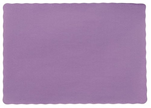 25-Paper-Placemats-10-X-14-Dinner-Size-26-Colors-Purple