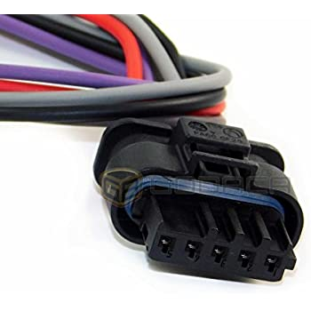 amazon com 1x connector wiring harness 5 pin 5 way for bmw w out