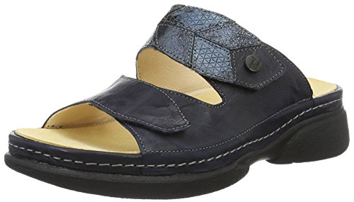 Think Cambio - Mules Mujer Azul (Navy/kombi 88)