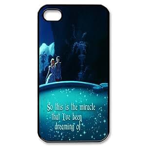 Custom Design Personalized Beautiful Disney Princess Cinderella Fairy Tale New Style Durable iPhone 4 4S Case