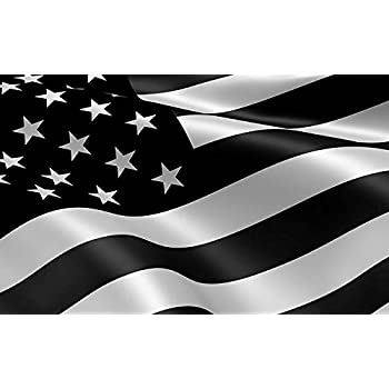 Socal flags brand usa black white flag 3x5 foot polyester american protest high quality