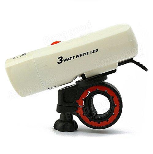 Moppi M18 3 modos de luz delantera de la bicicleta de la bici del faro luz de la bicicleta