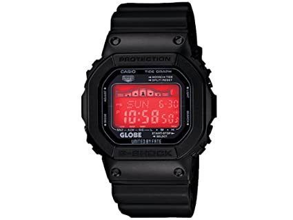 the best attitude 8785c f91fe Amazon.com  Casio G-Shock Globe X Collaboration Limited Edition Watch   Watches