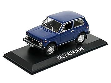 Générique VAZ Lada NIVA Bleu DIECAST Car 1:43 IXO Legendary Car BA60: Amazon.es: Juguetes y juegos