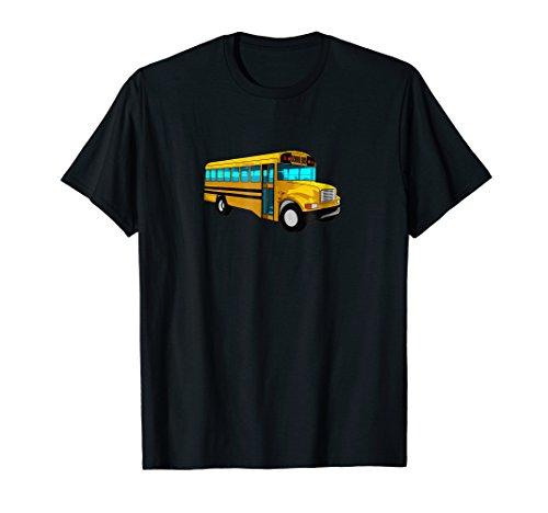 Yellow School Bus Driver T Shirt - Kids, Men, Women, ()