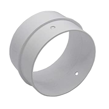 Kair 4 inch // 100mm Round Ducting Connector SYS-100 Pipe Connector Joint DUCEK28 by Kair
