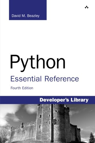 Book cover of Python Essential Reference by David Beazley