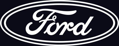 Chroma 3620 Ford Die Cutz - White Decal